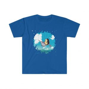 Uber Narwhal TShirt in Navy Blue
